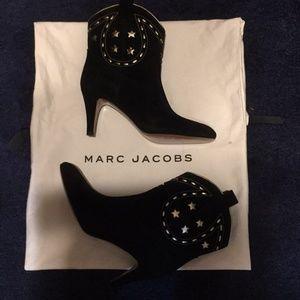 Marc Jacobs cowboy riding boots